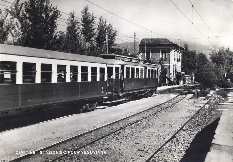 Cimitile (Na), stazione Circumvesuviana