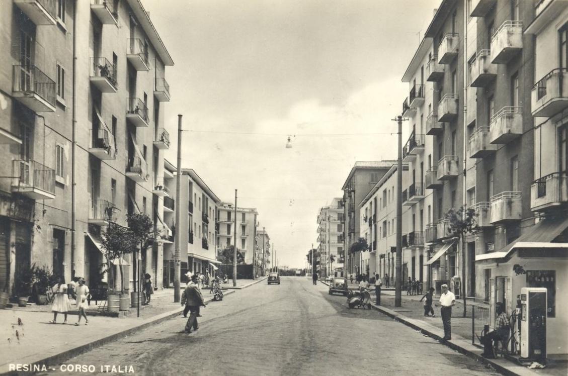 Resina (Na), Corso Italia