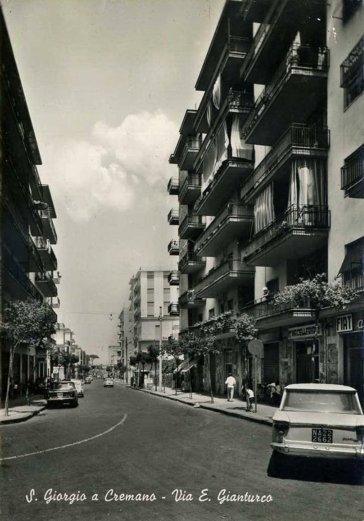 San Giorgio a Cremano (Na), Via E. Gianturco