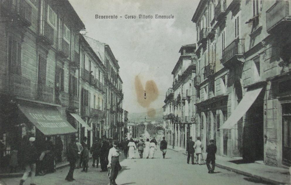 Benevento, corso Vittorio Emanuele