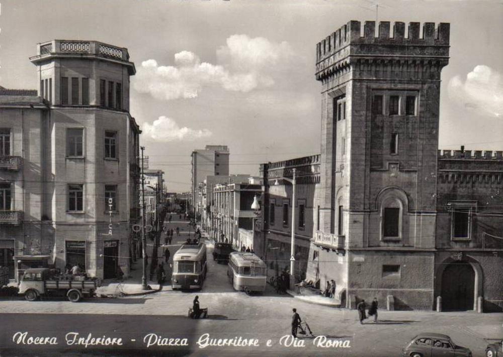 Nocera Inferiore, piazza Guerritore e via Roma