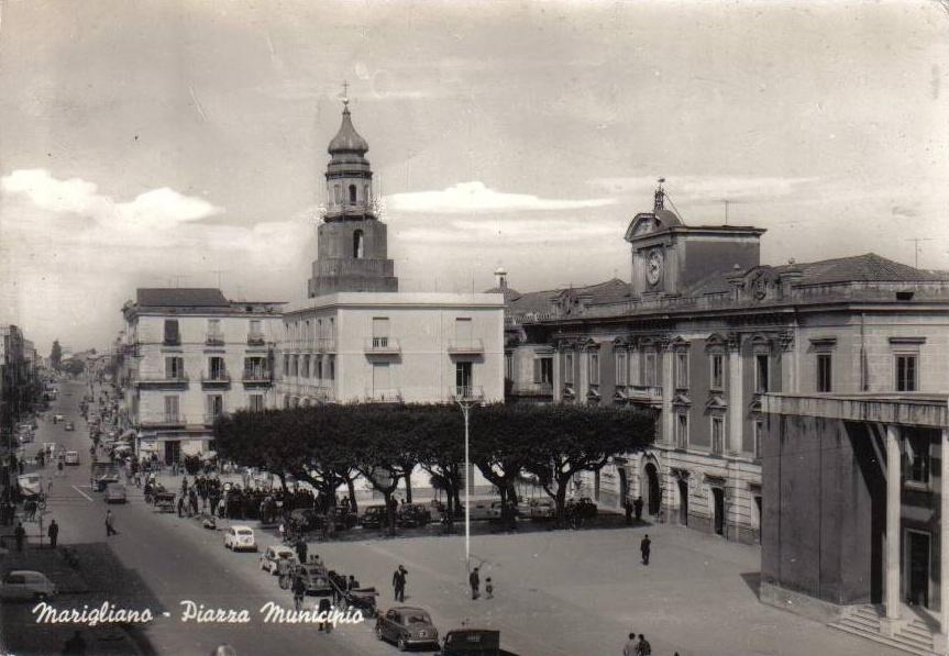 Marigliano (Na), Piazza Municipio