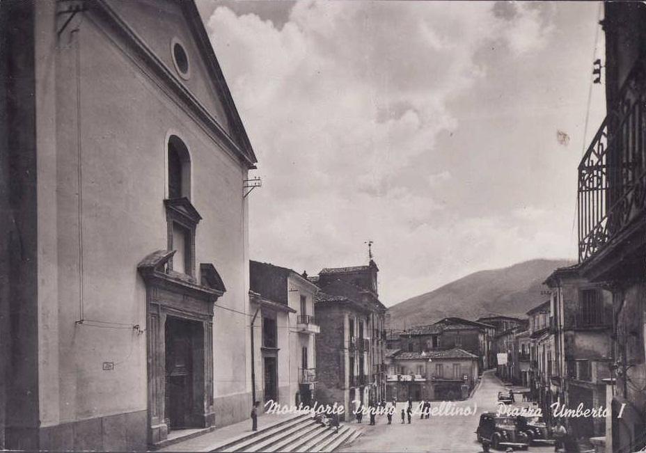 Monteforte Irpino (Av), Piazza Umberto I