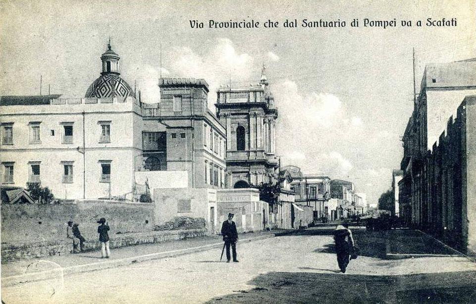 Pompei (Na), via provinciale per Scafati