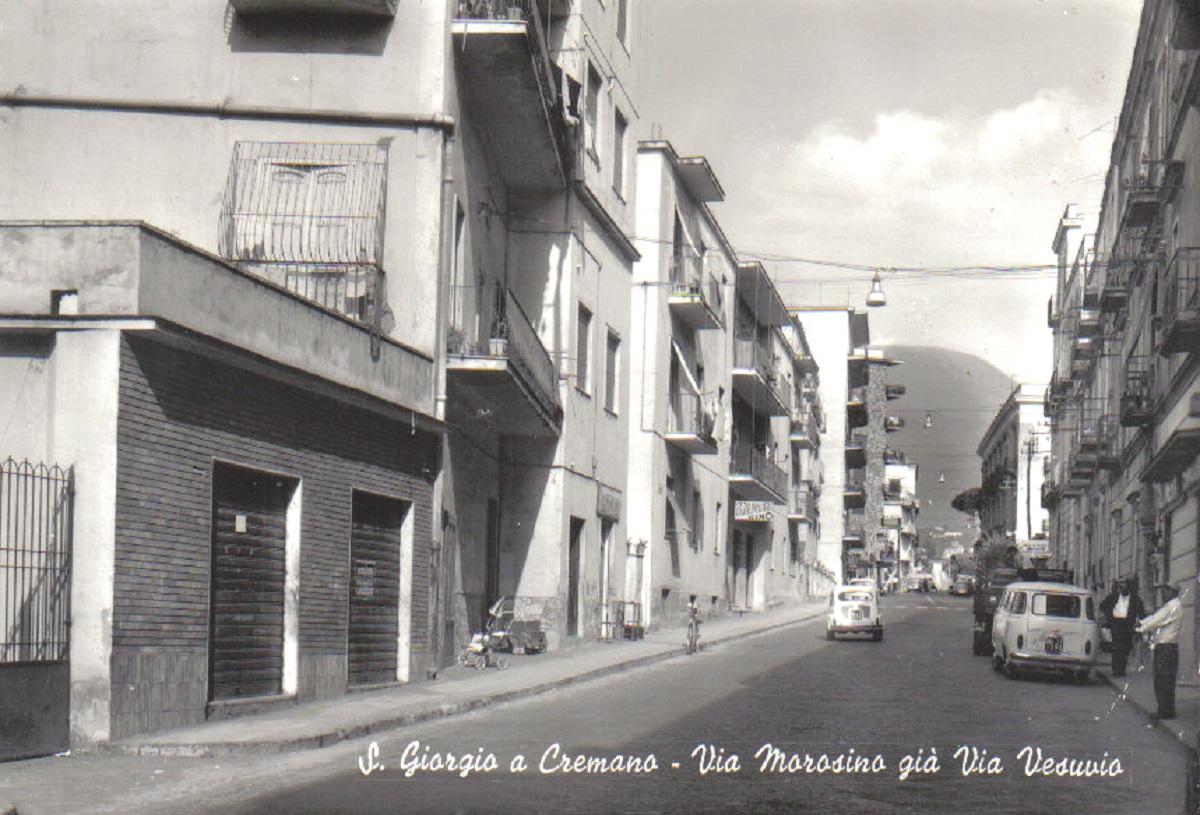 S. Giorgio a Cremano, Via Vesuvio
