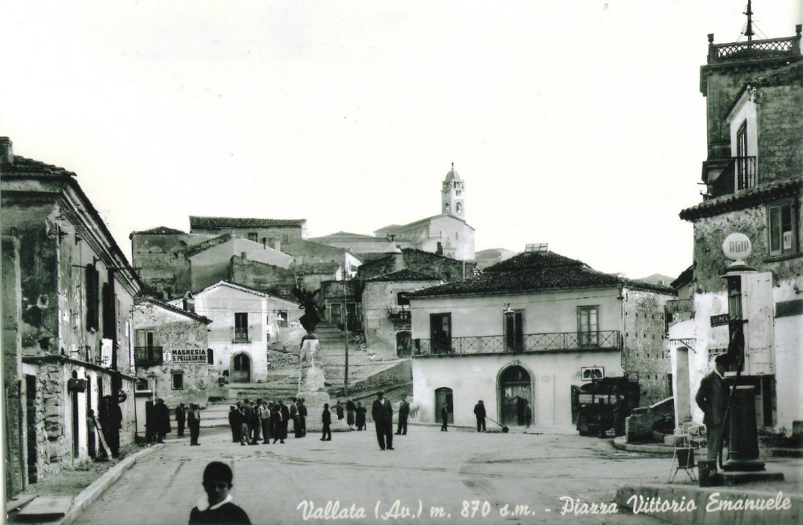 vallata (Av), Piazza Vittorio Emanuele