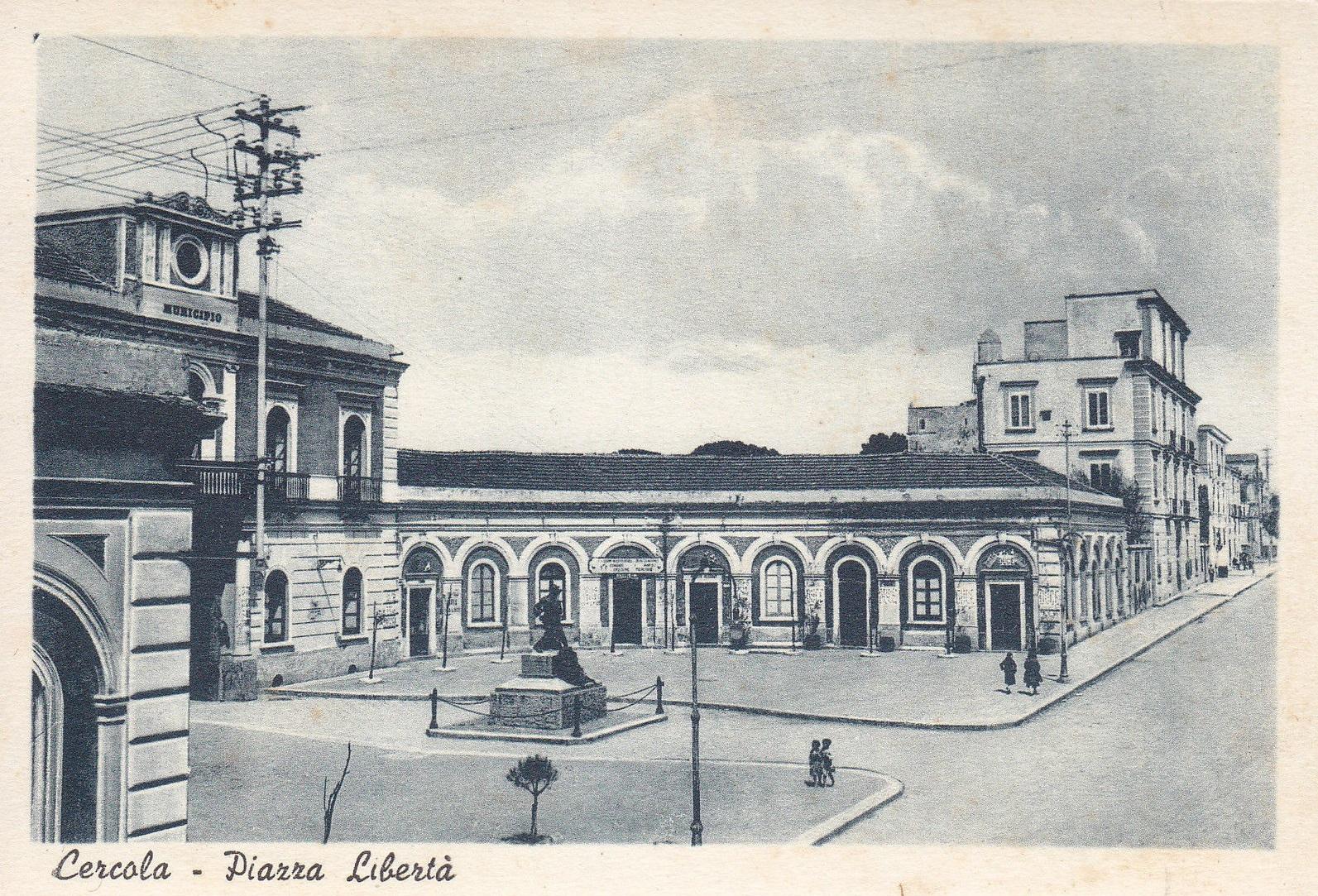 Cercola, piazza Libertà
