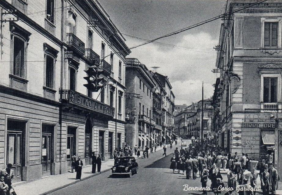 Benevento, corso Garibaldi