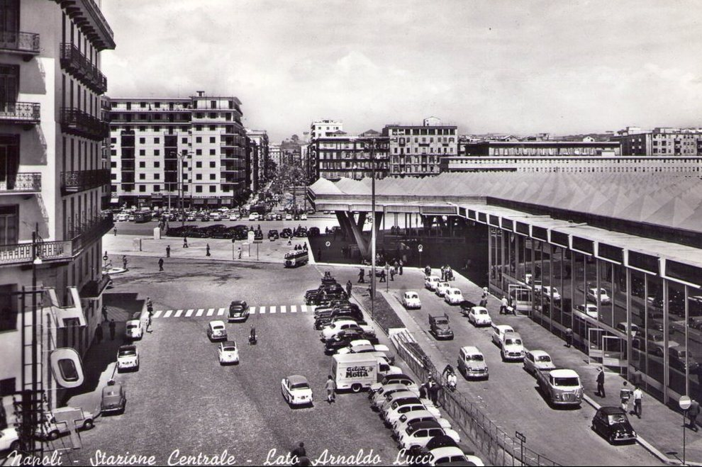 napoli, stazione centrale, corso lucci