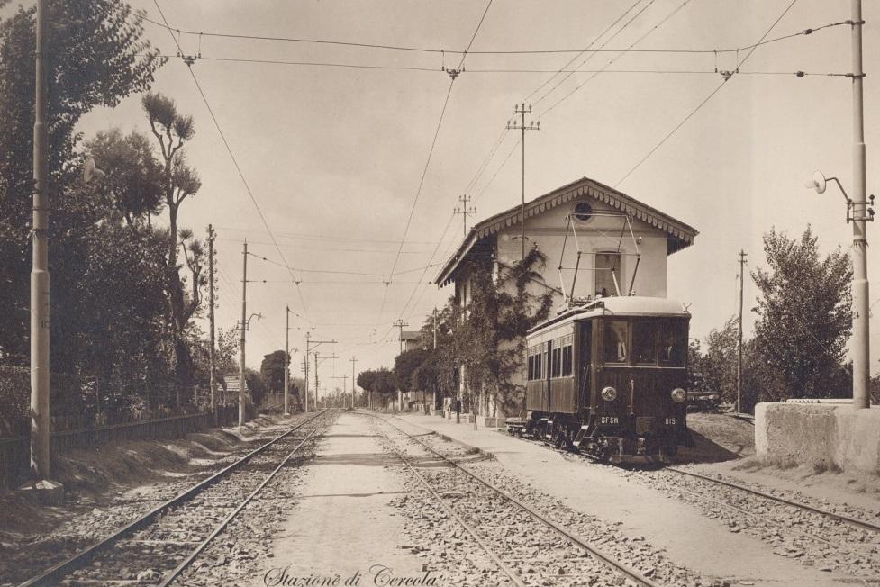 Cercola (Na), stazione Circumvesuviana
