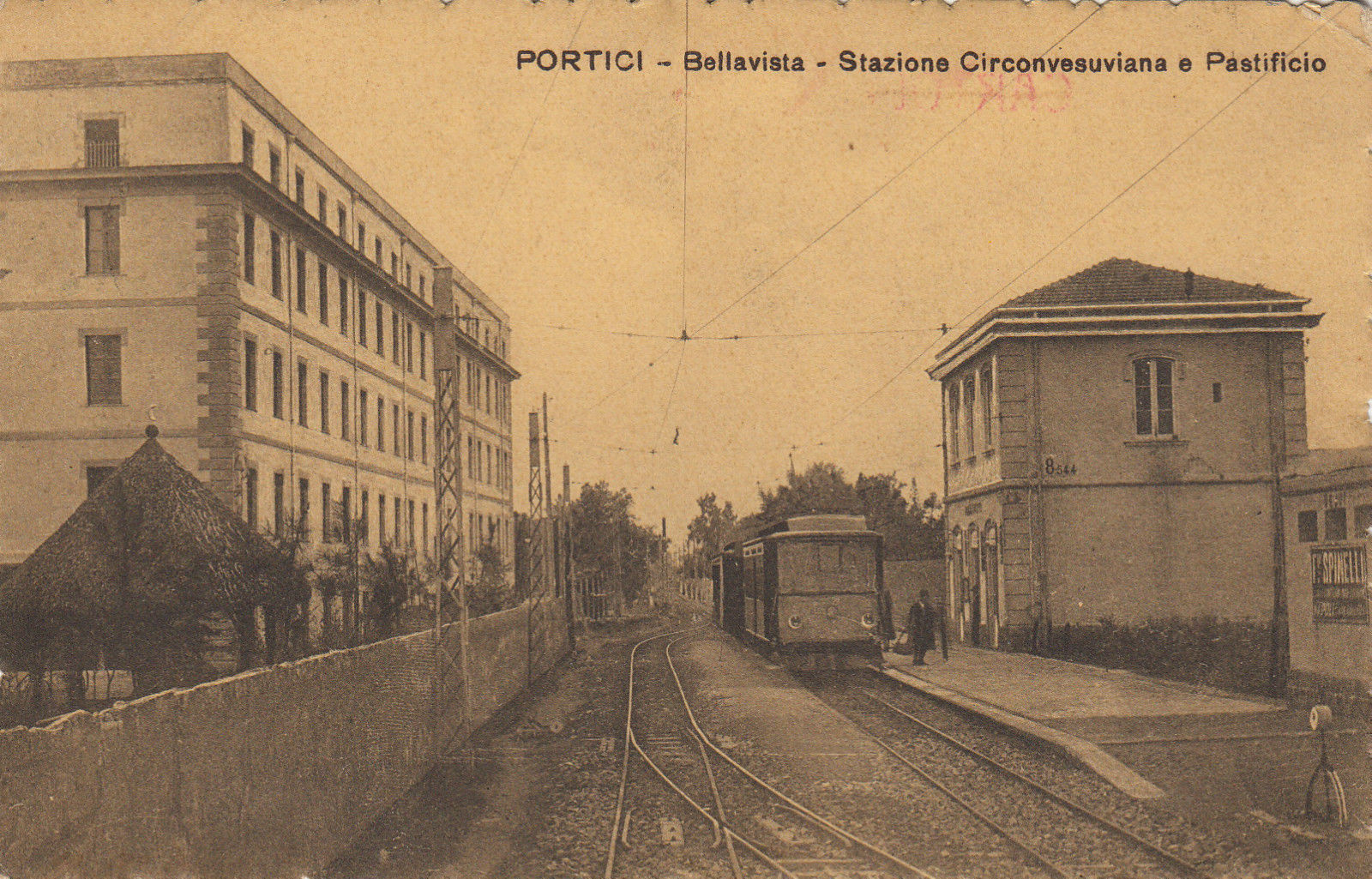 portici-bellavista pastificio treno sfsm circumvesuviana