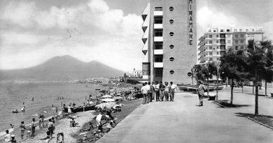 Castellammare di Stabia, hotel Miramare e Vesuvio