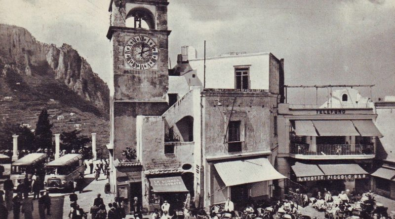 Capri, la piazzetta